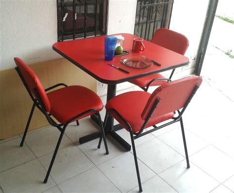 Mesa Juego Con 4 Sillas Restaurante Comedor Hogar Bar ...