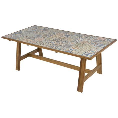 Mesa madera de acacia SOHO Ref. 19157411   Leroy Merlin