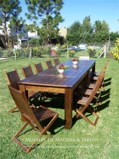 Mesa para Exterior en madera de Peteribi | Mesas ...