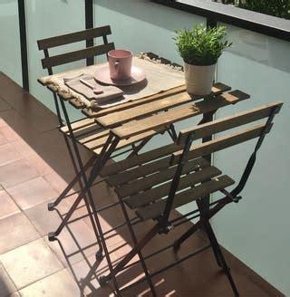 Mesa para jardín Ikea de segunda mano en WALLAPOP