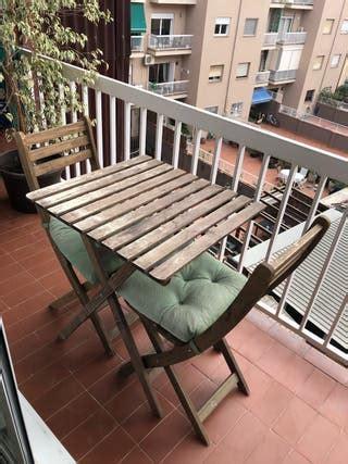 Mesa para terraza Ikea de segunda mano en WALLAPOP