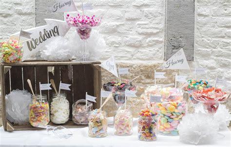 Mesas de chuches para bodas | TodoDulce