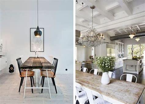 Mesas de comedor estilo industrial | Estilo Escandinavo ...