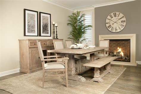 Mesas de comedor modernas de madera maciza   50 ideas.