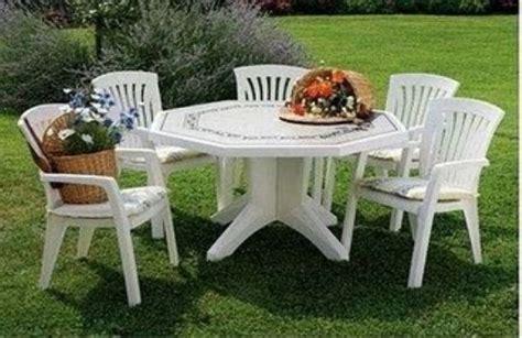 Mesas plastico jardin