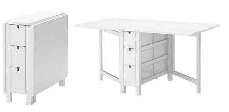 Mesas plegables de Ikea