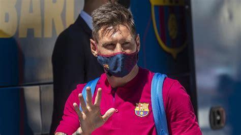 Messi: última hora y noticias de su posible salida del ...