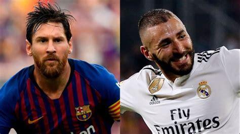 Messi y Benzema colideran la tabla de goleadores de La ...