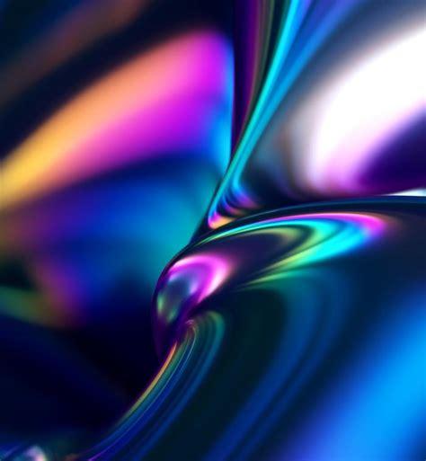 Metallic Regenbogen Farben HD Hintergrundbilder herunterladen