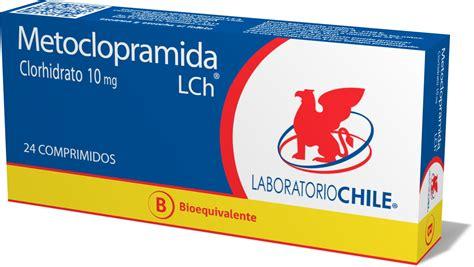 Metoclopramida 10 mg | Laboratorio Chile | Teva