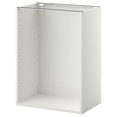 METOD Estructura armario bajo, blanco, 60x37x80 cm   IKEA