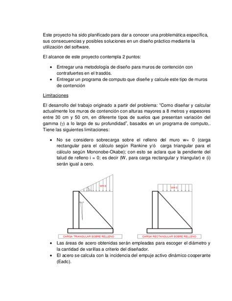Metodologia de diseño y cálculo estructural para muros de ...