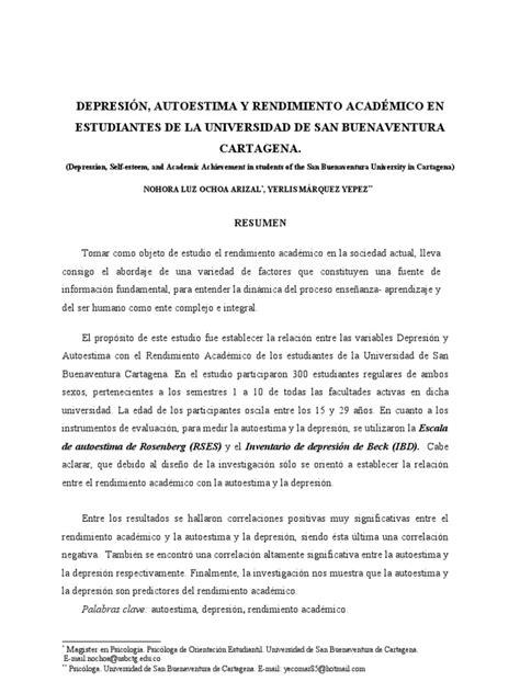 Metodología de la Investigación  Normas APA  Ejemplo ...