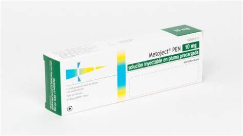 METOJECT PEN 10 MG SOLUCION INYECTABLE EN PLUMA PRECARGADA ...