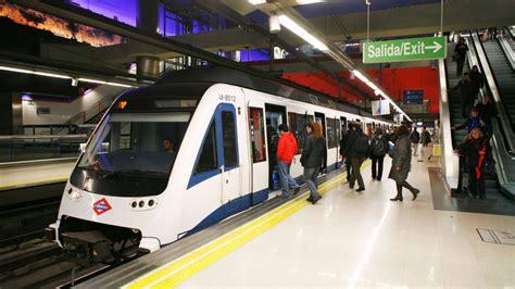 Metro de Madrid: la línea del aeropuerto, cerrada desde ...