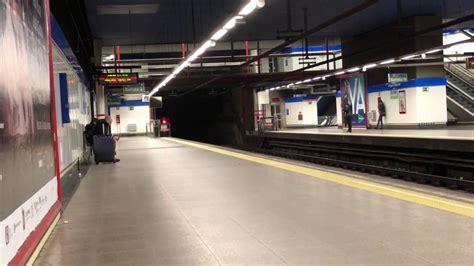 Metro de Madrid, Línea 10, L10, estación De Gregorio ...