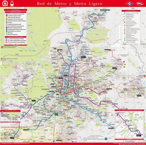 Metro de Madrid, más de 100 imágenes del mapa de metro ...