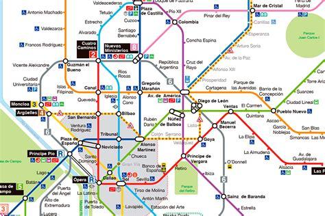 Metro de Madrid renueva los planos de su red de estaciones ...
