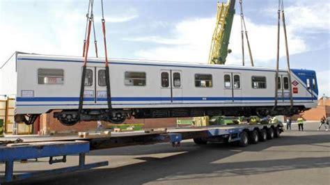 Metro de Madrid vende a Argentina cuatro trenes de las ...