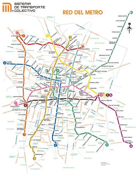 Metro de México DF / Mexico DF subway #infografia # ...