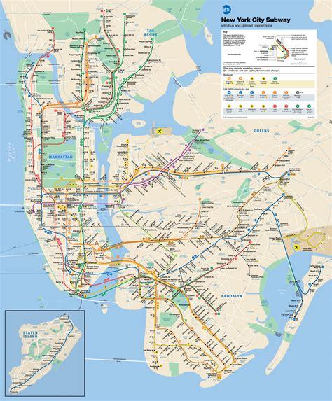 Metro de Nueva York, precios, líneas, horarios y mapa ...