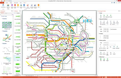 Metro Map Solution | ConceptDraw.com