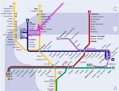 Metro Paradas Mapa