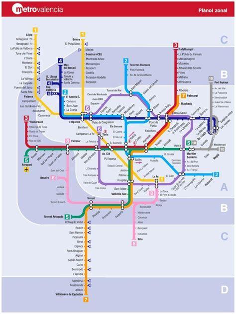 Metrovalencia borra las líneas de colores
