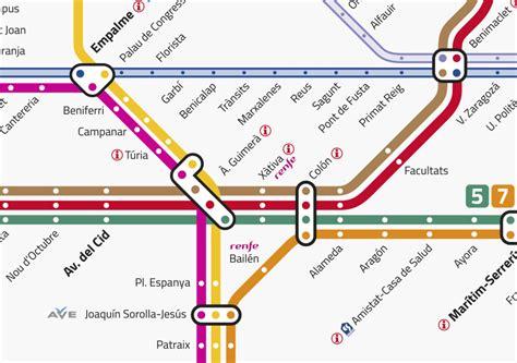 Metrovalencia modifica la nomenclatura de sus líneas ...