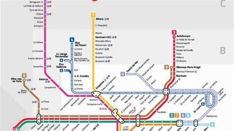 Metrovalencia pasa de cinco a nueve líneas sin ampliar la red