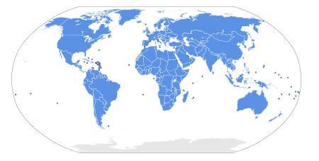 Meu Mundo Geográfico: Quantidade de países reconhecidos ...