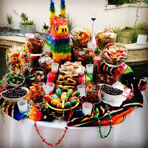 Mexican Candy Table | Mexican candy table, Mexican birthday