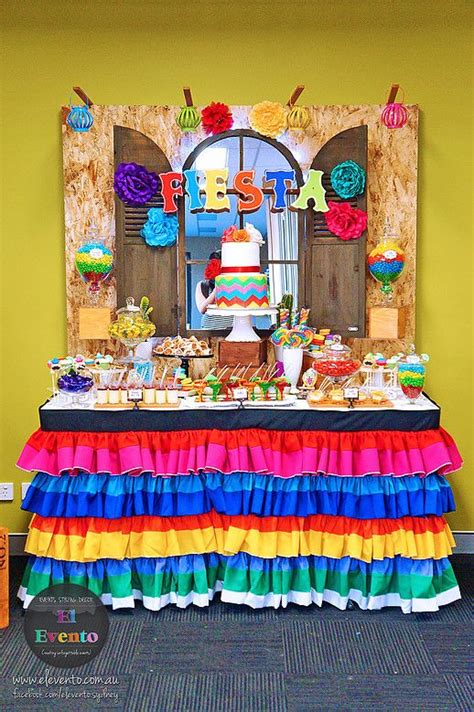 mexican fiesta dessert table   Google Search | Fiestas de ...