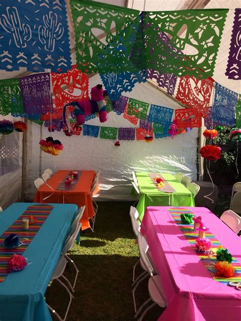 Mexican Fiesta! | Mexican party theme, Mexican birthday ...
