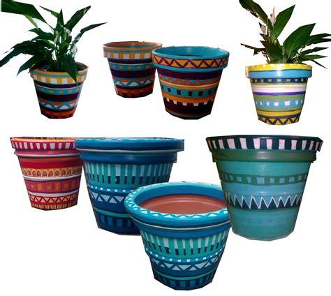 Mexican Flower Designs Mexican flower pot design ...
