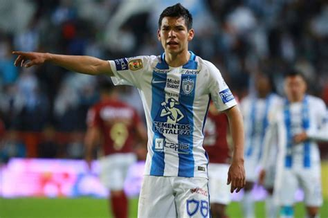 Mexican forward Hirving Lozano expresses interest in ...