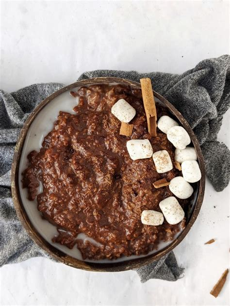 Mexican Hot Chocolate Protein Oats – Hayl s Kitchen