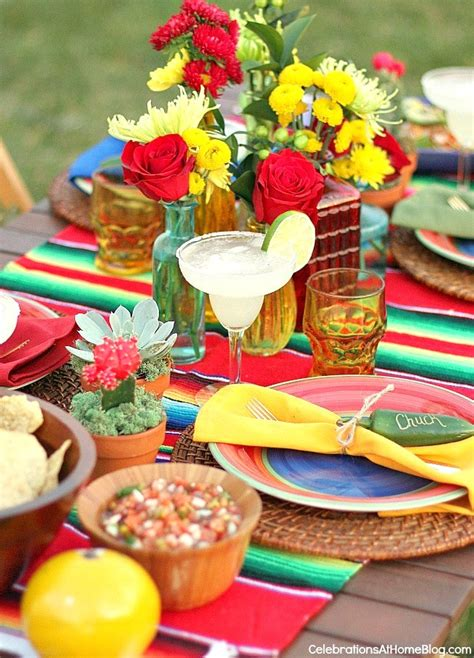 Mexican Party Ideas and fiesta themed tablescape ...
