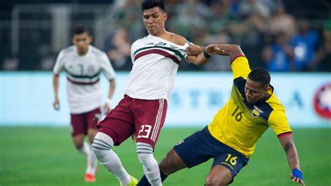 México vs Ecuador: Resumen, resultado y goles   MARCA ...
