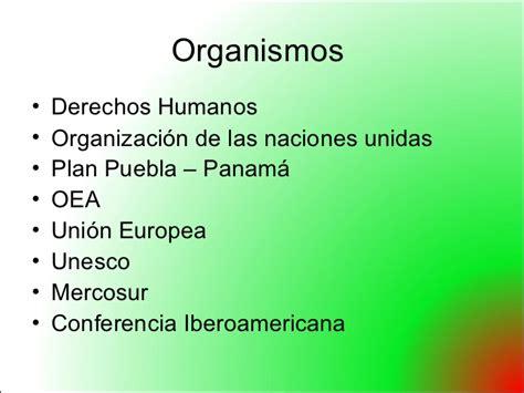 Mexico y Organizaciones internacionales  Cucuta