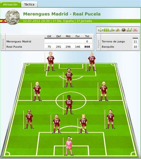 MF   el juego de manager de fútbol online donde eres el ...