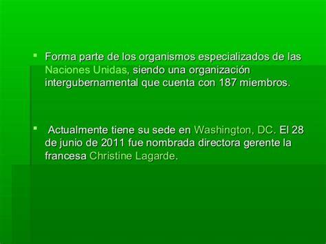 Mga fondo monetario internacional