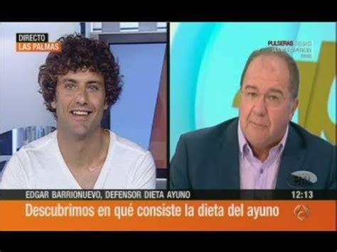 Mi Ayuno  en  Espejo Publico  de Antena 3  2013/08/12 ...