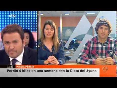 Mi Ayuno  en  Espejo Publico  de Antena 3  2014/01/03 ...