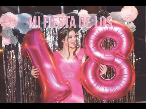 MI FIESTA DE LOS 18 || CARLA DI PINTO   YouTube