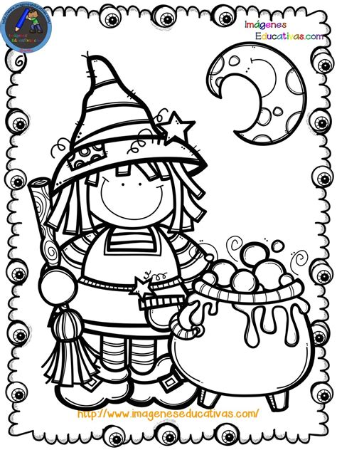 Mi libro para colorear en Halloween  9  – Imagenes Educativas