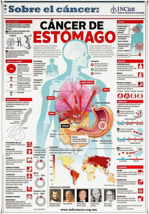 Mi pequeños aportes: Infografía sobre el cáncer de estomago
