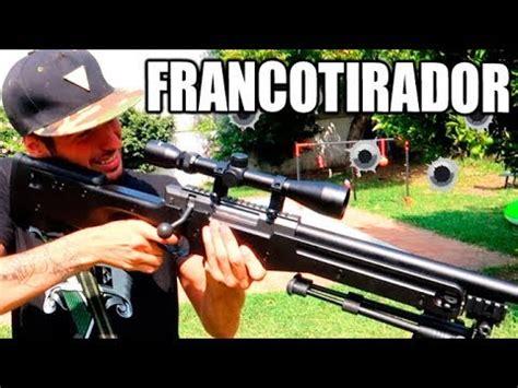 MI PRIMERA VEZ CON UN RIFLE FRANCOTIRADOR !! MIS ARMAS ...