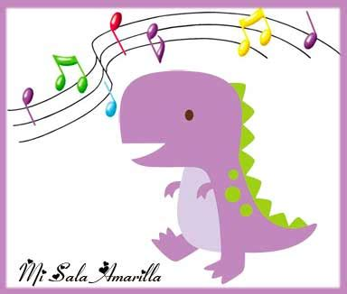 Mi Sala Amarilla: Canciones infantiles de Dinosaurios