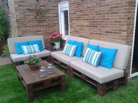 mi terraza con palets   terrazas   Pinterest